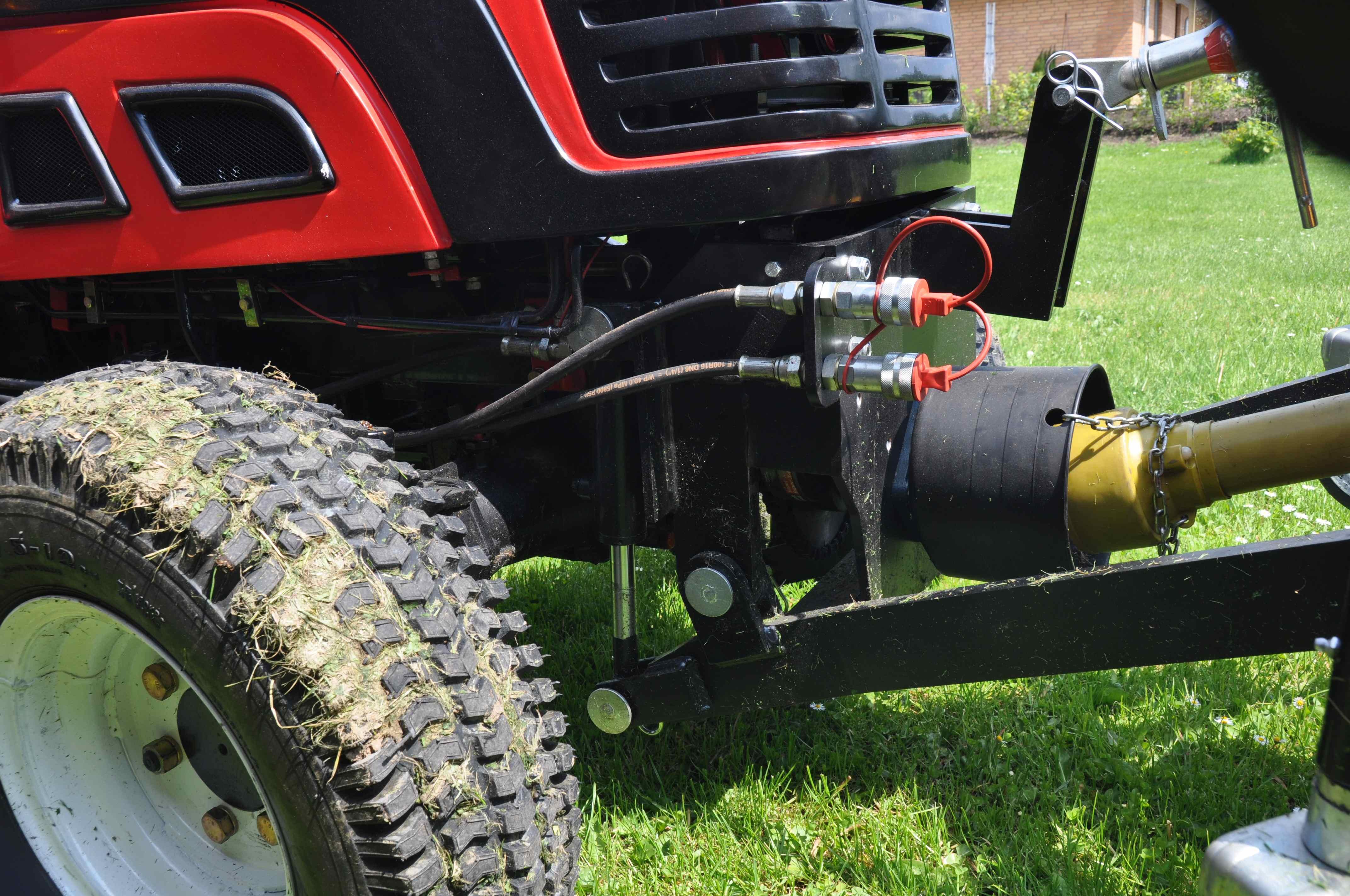 #løse bolte på ONJ traktor